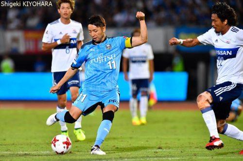 20170909 J1 Kawasaki vs YokohamaFM Kiyohara9