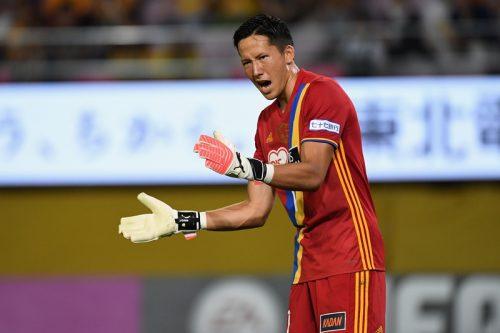 仙台、GKシュミット・ダニエルが2カ月の戦線離脱へ…右足首を負傷