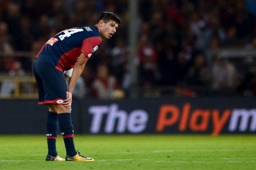 ●ジェノアFWペッレグリ、今世紀5大リーグで複数得点を挙げた最年少選手に