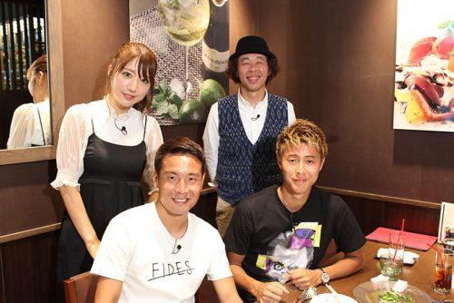 山口、杉本、柿谷、水沼がプライベートトーク展開…平ちゃんの「ほな行こか。」が9月9日放送