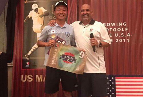 ●日本人の桑田寛之がフットゴルフメジャー大会でトップ10入り、元アルゼンチン代表アジャラも出場