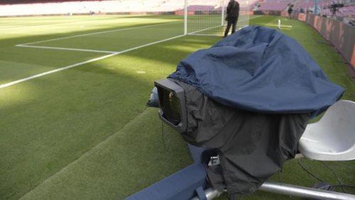 ●メインスタンドに隠された秘密? スペインサッカー中継の裏側