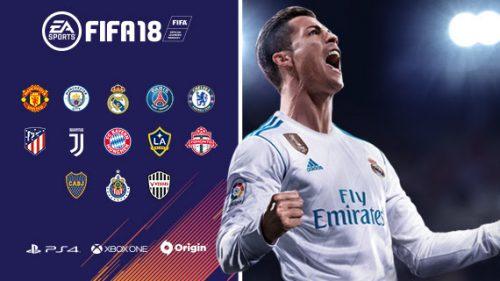 シリーズ最新作『FIFA 18』体験版がPS4とXbox Oneで配信開始…レアルや神戸が使用可能
