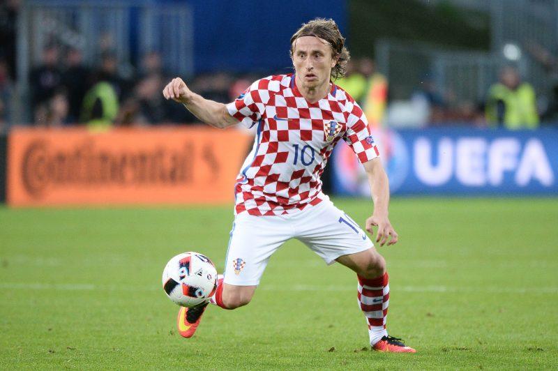 クロアチア代表MFモドリッチ
