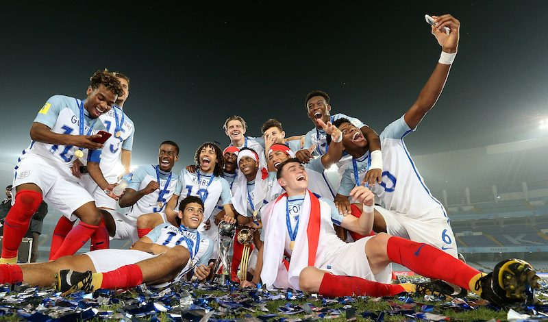 U-17イングランド代表
