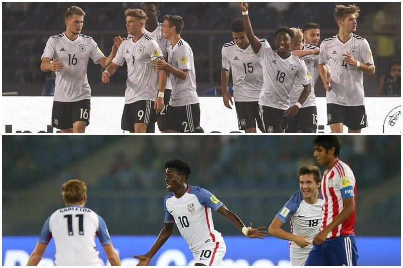 U17ドイツ代表、U17アメリカ代表