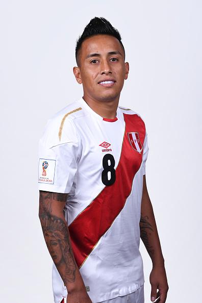 クリスティアン・クエバ(ペルー代表)のプロフィール画像