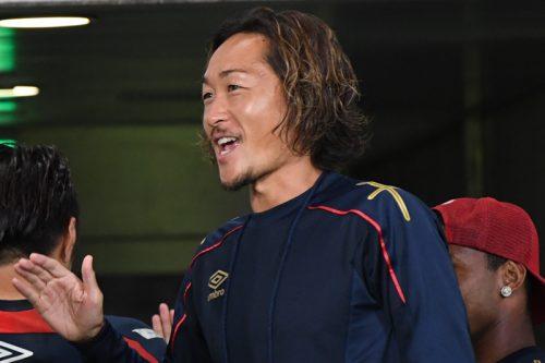 FC東京、引退発表の石川直宏が約1年ぶりに練習合流「この上なく幸せ」