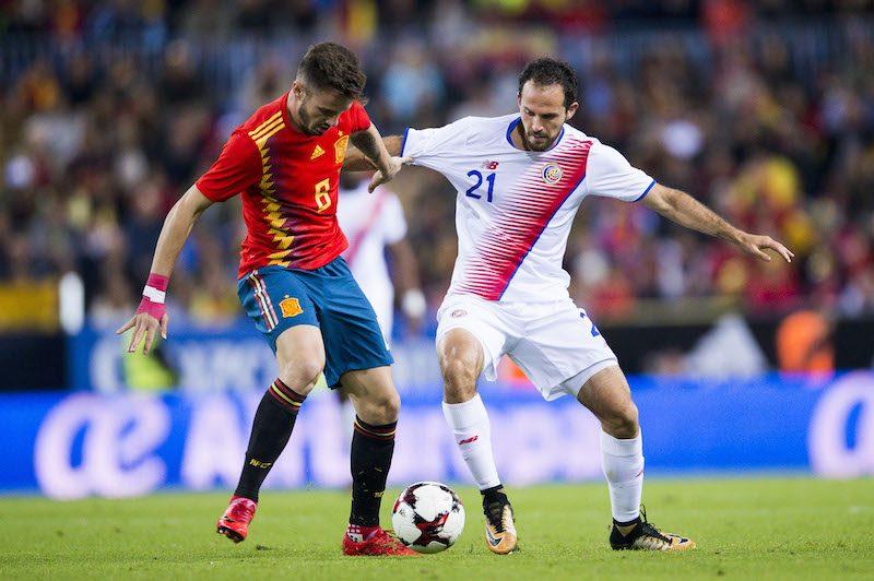 スペイン代表対コスタリカ