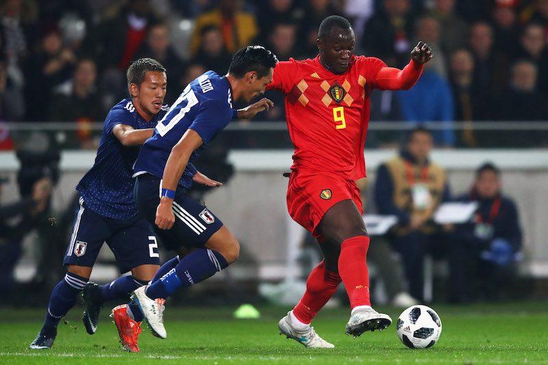 日本代表 ベルギー代表