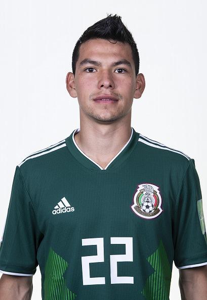 イルビング・ロサノ(メキシコ代表)のプロフィール画像