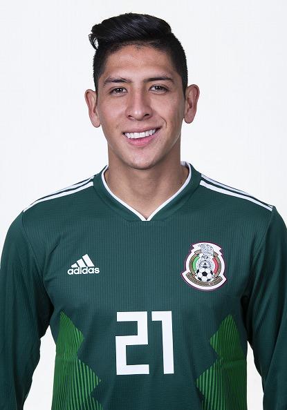 エドソン・アルバレス(メキシコ代表)のプロフィール画像