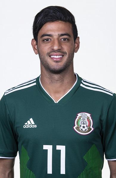 カルロス・ベラ(メキシコ代表)のプロフィール画像