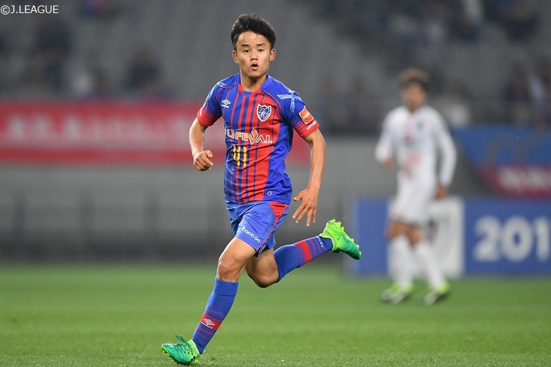 FC東京、久保建英がJ1初出場! ...