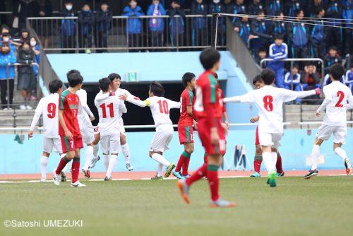 ●東福岡が2回戦進出…主将・福田湧矢のPK弾など3ゴールで尚志を撃破