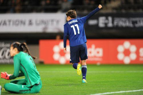 ●なでしこ、田中の2試合連続弾が決勝ゴール! 優勝を懸けて北朝鮮との決戦へ