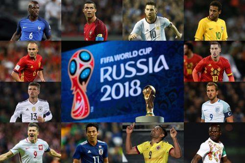 【番組表】ロシアW杯、TV放送スケジュール一覧…NHKと民放が全64試合を生中継