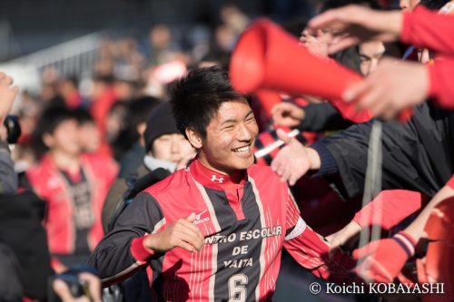 【写真ギャラリー】2018.1.3 第96回全国高校サッカー選手権大会3回戦 神村学園 0-1 矢板中央