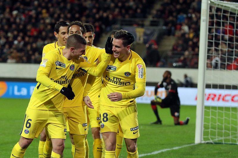 PSGがリーグ杯5連覇に王手! 3発でレンヌに勝利、ムバペは一発退場