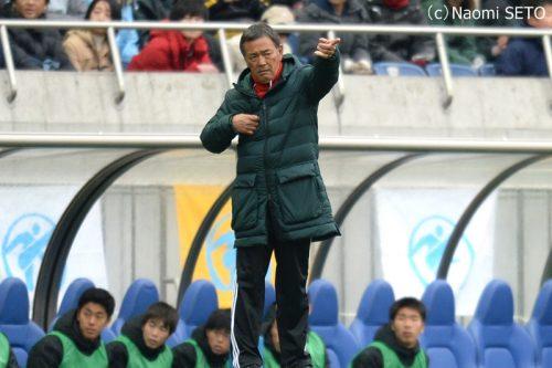●夏冬連覇を逃した流通経済大柏…本田監督は選手たちに感謝「よく戦ってくれた」
