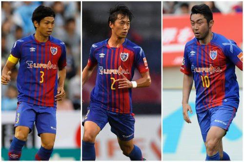 ●FC東京が日本代表DF森重&室屋、MF梶山との契約更新を発表