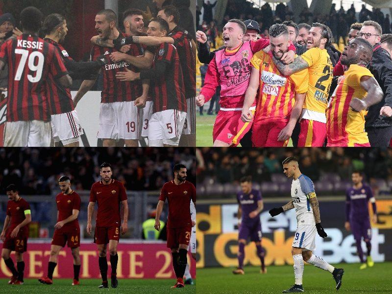 ミランが4試合ぶりの白星…インテル&ローマは未勝利続く/セリエA第20節