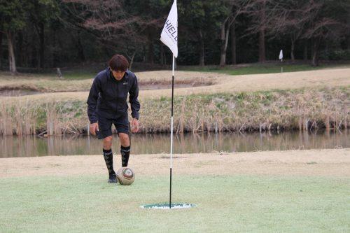 ●元鹿島・浦和の阿部敏之氏がフットゴルフに本格参戦