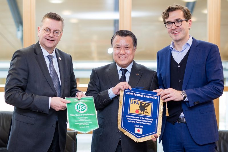 日本サッカー協会、ドイツサッカー連盟