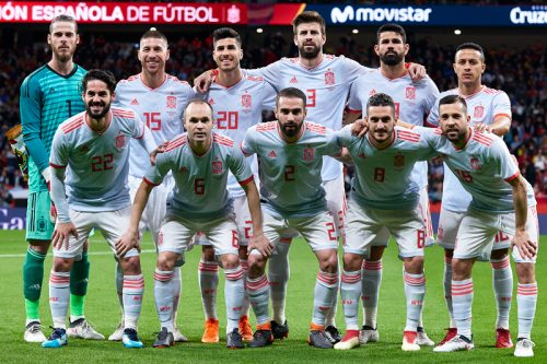 """まさに""""無敵艦隊""""スペイン、2016年夏から無敗…W杯出場32カ国で唯一"""