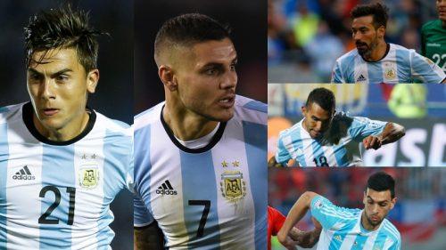 """アルゼンチン代表の""""贅沢すぎる悩み""""…ロシアW杯で構成される攻撃陣は?"""