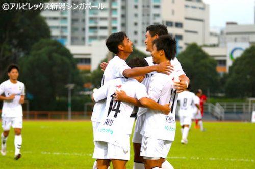 ●アルビレックス新潟シンガポール、相手OGが決勝点で開幕2連勝