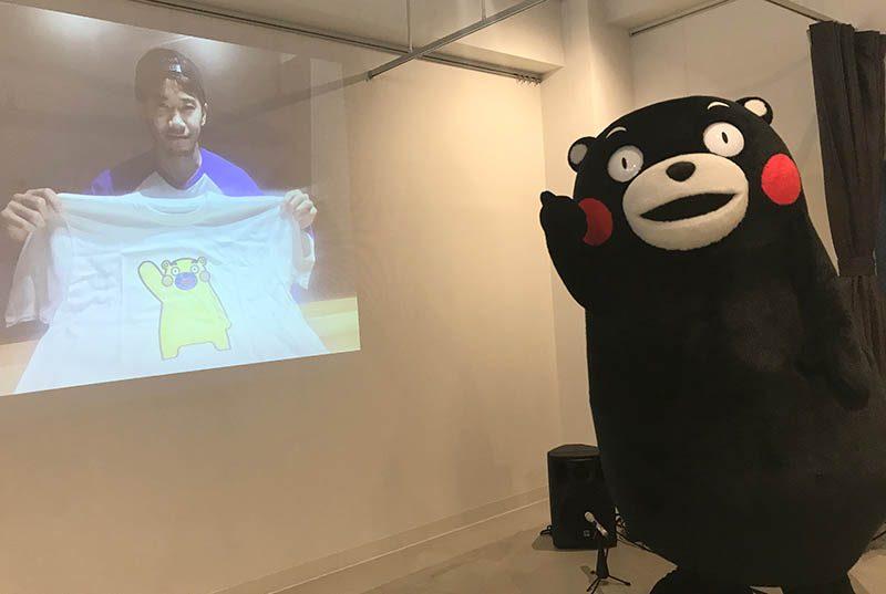 香川真司も参加くまモンのぬりえtシャツで熊本の復興を支援