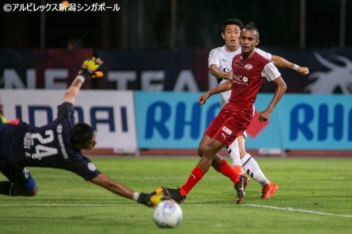 ●アルビ新潟S、6ゴール大勝で開幕4連勝…星野秀平が2ゴールの活躍