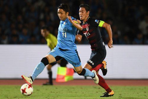 昨季のトップ2対決、満員の等々力で…川崎、鹿島戦チケ完売を発表