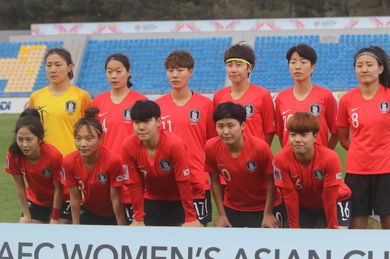 韓国女子代表、2大会連続のW杯出...