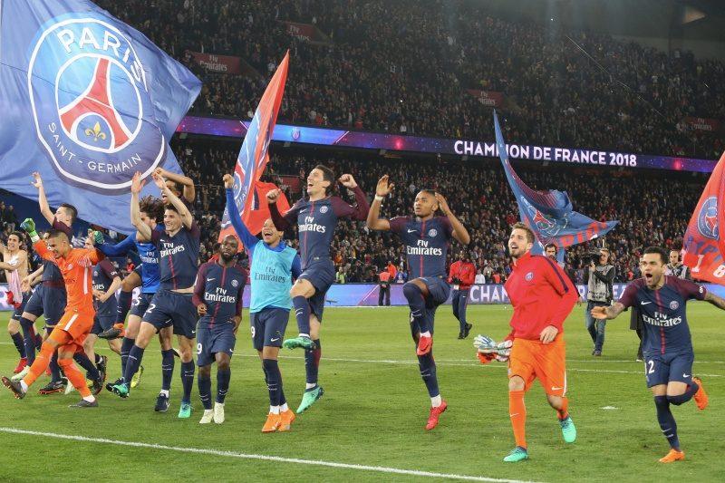 PSG、2季ぶり7度目のリーグ優勝決定! 2位モナコ相手に7発快勝