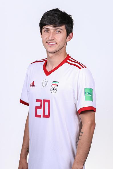 サルダル・アズムン(イラン代表)のプロフィール画像