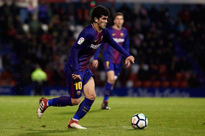 2部昇格から1年で…バルセロナB、1試合残してスペイン3部降格決定