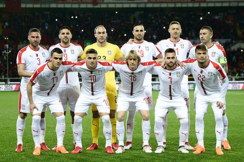 セルビア代表がW杯予備登録27名...