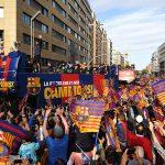 FC Barcelona Victory Parade