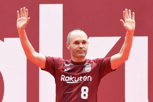 イニエスタが神戸ファンに挨拶「より偉大にしたい」…本拠地でお披露目会実施
