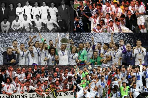 ●CL3連覇に王手のレアル、史上最多となる過去15回のファイナルを振り返る