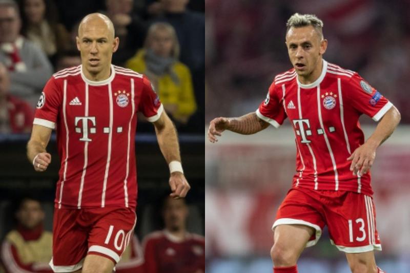 ロッベンとラフィーニャ、バイエルン残留決定…2019年まで契約を延長