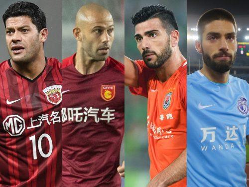 ●まさにアジアのスター大国! 豪華メンバー目白押し! 中国リーグでプレーする外国人選手たち