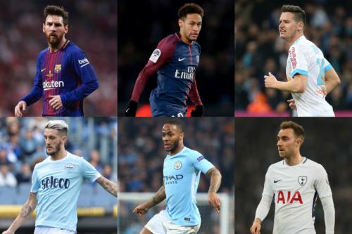 佳境を迎えた欧州5大リーグ、2桁得点&アシストに到達している選手は?