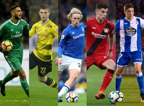 欧州4大リーグで活躍する10代選手はどれだけいる? 堂安律と同世代の活躍度をチェック!