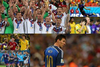 """【2014年 ブラジルW杯】準決勝で衝撃の""""1-7""""…南米の二強を撃破したドイツが4度目の栄冠"""