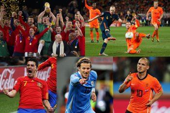 【2010年 南アフリカW杯】史上初のアフリカ開催…ブブゼラの勇壮な音色の中、スペインが初の栄冠