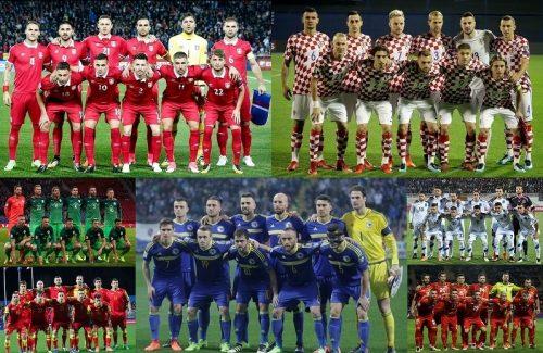もしもユーゴスラビア代表が存在したら…現役代表選手で23名を選んでみた