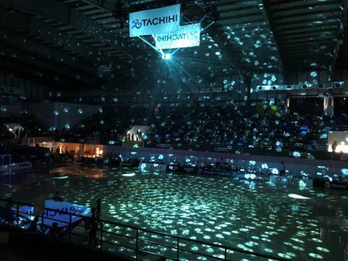 F1リーグ第2節を開催…立川・府中が新たな演出で会場を盛り上げる